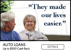 They made our lives easier. Auto loans up to $500 cash back