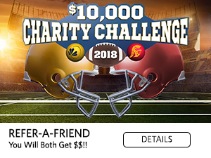 $10,000 Charity Challenge. 2018. Refer-a-Friend. You will both get $$!! Details