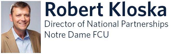 Robert Kloska. Director of National Partnerships