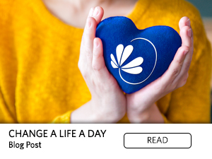 Change a Life a Day Blog Post. Read