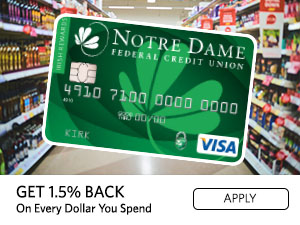 GET 1.5% BACK ON EVERY DOLLAR YOU SPEND. APPLY