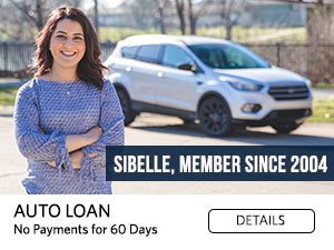 Sibelle, Member since 2004. Auto Loan. No Payments for 60 Days. Details
