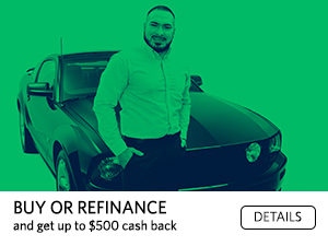 Buy or Refinance and get up to $500 cash back. Details