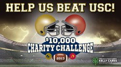 Notre Dame FCU Battles USC Credit Union in 2nd Annual $10,000 Charity Challenge
