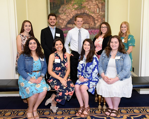 2019 Current College Students Scholarship Recipients