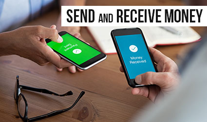 Send and Receive Money