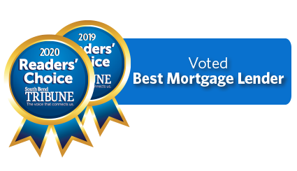 2019 and 2020 Readers Choice: Voted Best Mortgage Lender