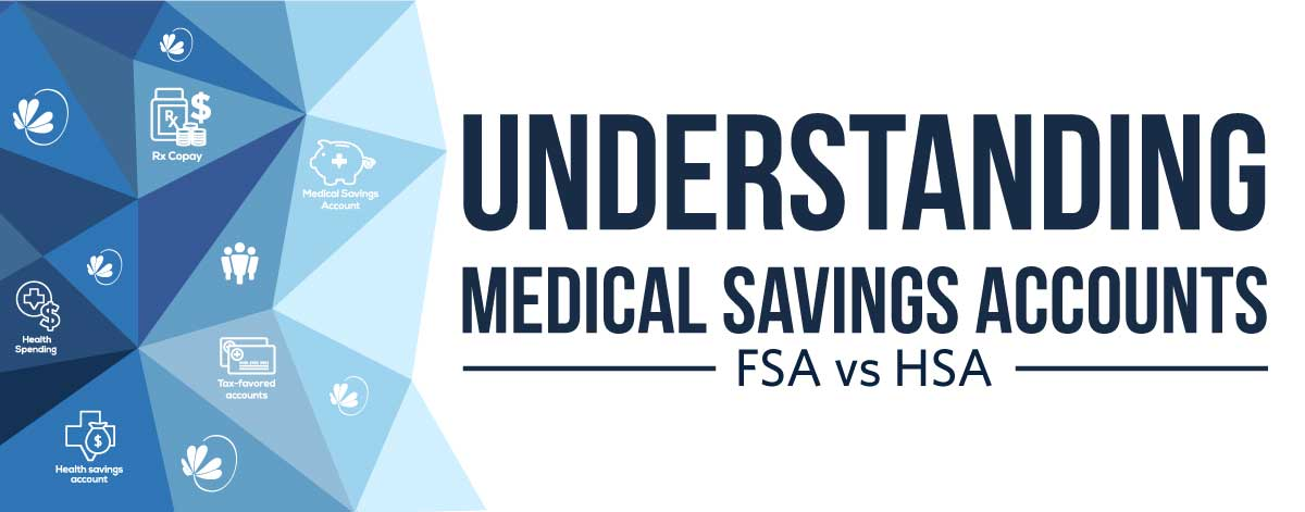 Understanding Medical Savings Accounts. FSA vs HSA.