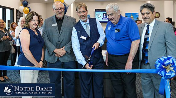 Notre Dame Federal Credit Union Cuts Ribbon on Lake County, Indiana Headquarters